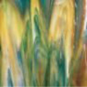 3501-00 White, Deep Forest Green, Caramel Opal
