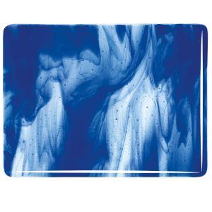 2047-30 Clear, Deep Cobalt Blue Opal