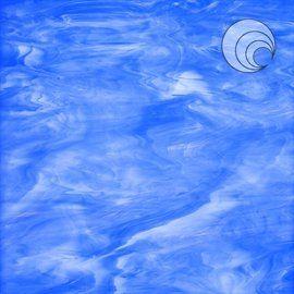 337-2f  blauw wit