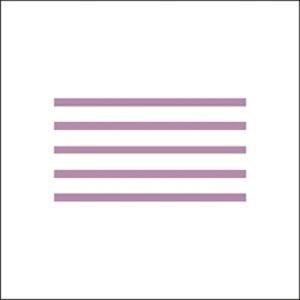 Noodles 3492F transparent light purple