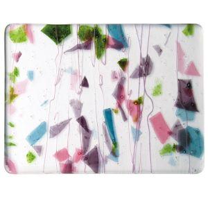 4128-00 Deep Pink, Plum, Spring Green, Aqua