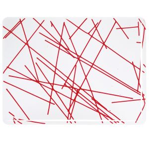 4424-00 Red Chopstix Clear Base