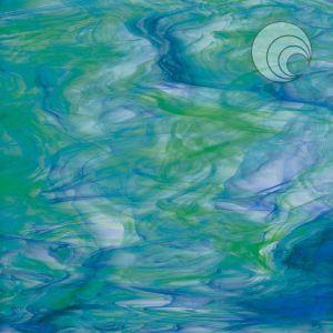 623-7f.  White/Dark Green/Blue