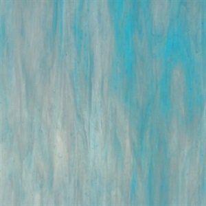 Wissmach 96-21 White/ dark Aquamarine