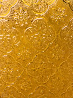 flower amber transp.