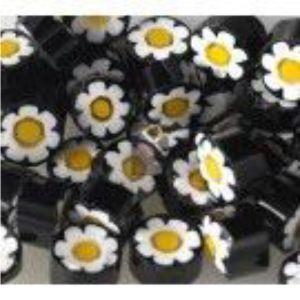 black flower 25 gram millefiori coe 104