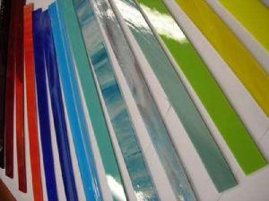glasstroken zijn ook leverbaar in alle andere glaskleuren