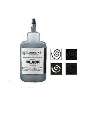 glassline black