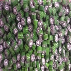 green flower 25 gram millefiori coe 104