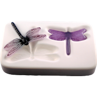 "Casting mold ""Dragonfly"" small 2in1"