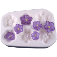 "Casting Mold ""Blossoms"" 6in1"