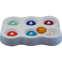 """Casting Mold """"Jewellery Small Ring Beads"""" 6in1"""