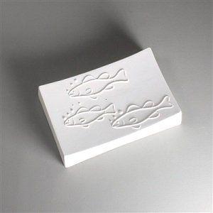 Fish Texture soap Disk