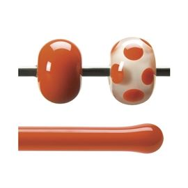 Glass rod 0125 F orange