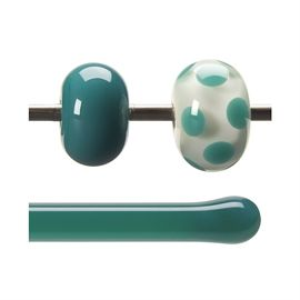 Glass rod 0145 F jade green