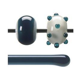 Glass rod 1108 F aquamarine blue