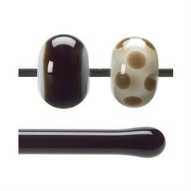 Glass rod 1109 F dark brown