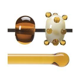 Glass rod 1137 F light amber
