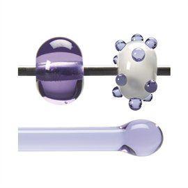 Glass rod 1442 F neo-lavender