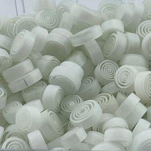 Witte swirl millefiori