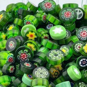 millefiori groen mix