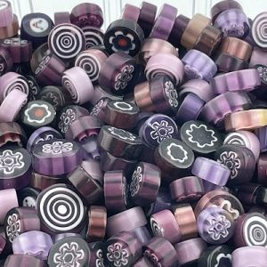 lila/paars  millefiori mix