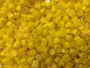 Yellow Square 25 gram millefiori coe 104