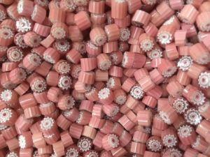 dream pink millefiori 25 gram coe 104