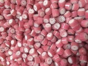 pink millefiori 25 gram coe 104