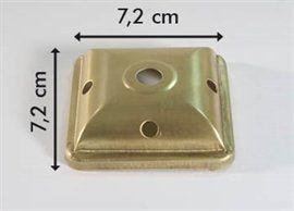 lampenkap 72x72mm