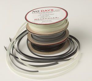 no days glaze 3.96 mm zwart 14 meter
