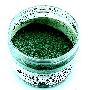 P1344 transp green