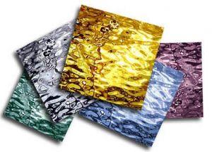 glasstroken mix set diverse spiegelkleuren per 5 stuks