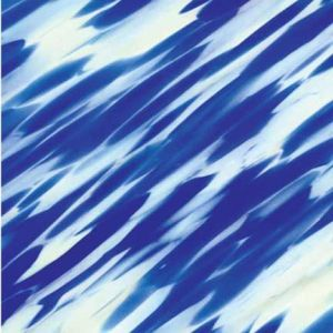 "Spirit/431-76SF Crystal Clear/Ivory/Cobalt Blue, ""Vienna"""