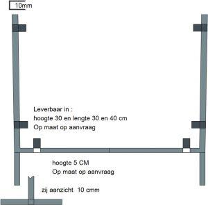 houder 40 cm