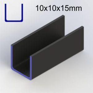 u 10x10x100 mm
