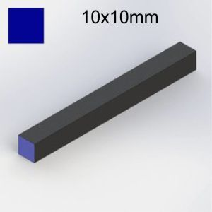 vierkant 10x10x100 mm