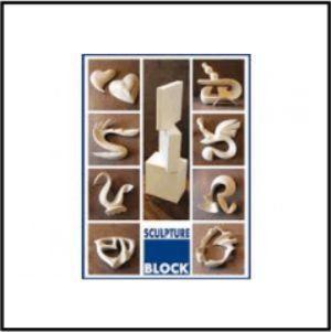 sculpture block 15x15x5cm per 3 stuks